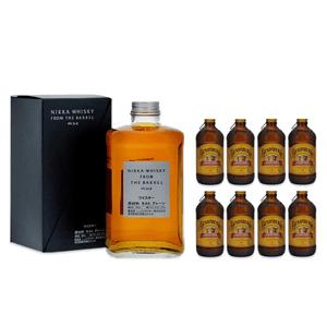 Nikka From The Barrel Blended Whisky 50cl avec 8x Bundaberg Ginger Beer