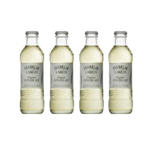 Franklin&Sons Ginger Ale 20cl, Pack de 4