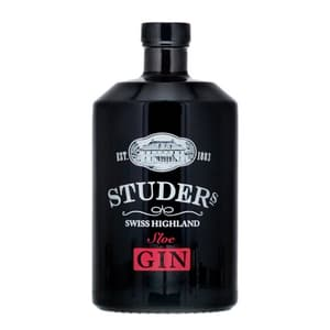 Studer's Swiss Highland Sloe Gin 70cl