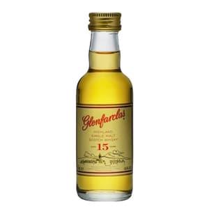 Glenfarclas 15 Years Single Malt Whisky 5cl