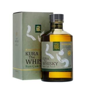 Kura Rum Cask Blended Malt Whisky 70cl