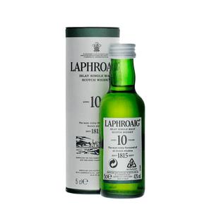 Laphroaig 10 Years Single Malt Whisky 5cl