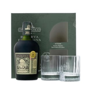 Diplomatico Reserva Exclusiva Rum Old Fashioned Set
