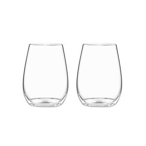 Riedel O Wine Tumbler Spirituosen Glas, 2er-Pack