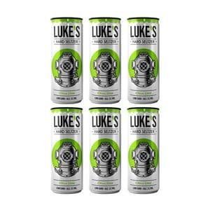 Luke's Hard Seltzer Lemon&Lime 33cl, 6er-Pack