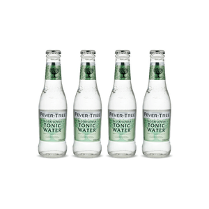 Fever-Tree Elderflower Tonic Water 20cl Pack de 4
