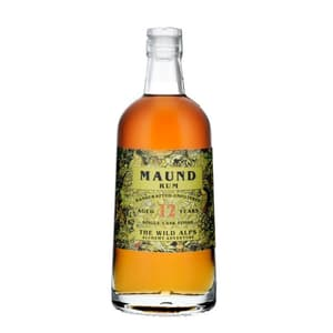 The Wild Alps Maund (Jamaika) Rum 12 Years 50cl
