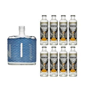 nginious! Summer Gin 50cl mit 8x 1724 Tonic Water
