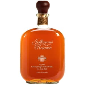 Jefferson's Reserve Very Small Batch Straight Bourbon Whiskey 75cl