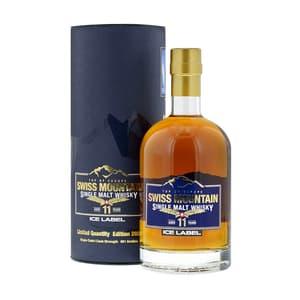 Swiss Mountain Single Malt Whisky Ice Label Edition 2021 50cl
