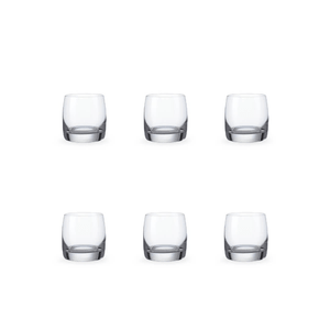 Bohemia Crystal Glass Ideal Shotglas 6cl, 6er-Set