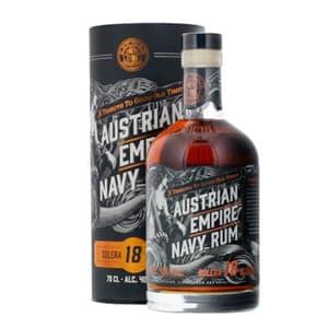 Austrian Empire Navy Rum Solera 18 Years 70cl