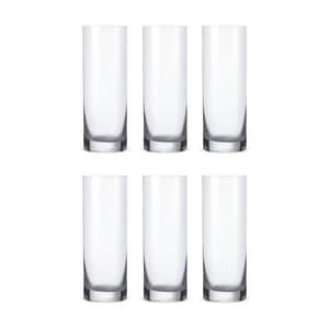 Bohemia Crystal Glass Barline Wasserglas 30cl, 6er-Set