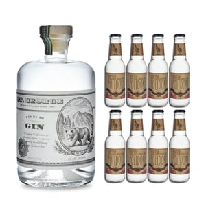 St.George Terroir Gin 70cl mit 8x Doctor Polidori's Dry Tonic Water