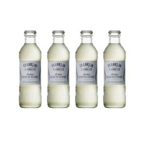 Franklin&Sons Sicilian Lemon Tonic Water 20cl, Pack de 4
