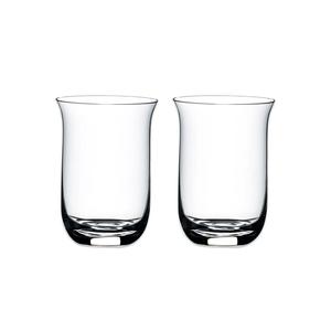 Riedel O Wine Tumbler Verre à Whisky Single Malt, Pack de 2