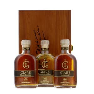 Grappa Marzadro Set Giare 3x 20cl