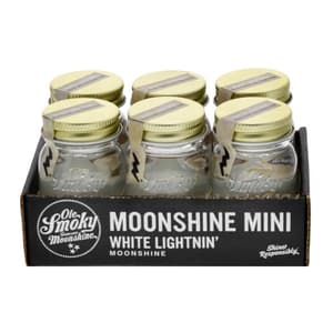 Ole Smoky White Lightnin 5cl, 6er-Pack