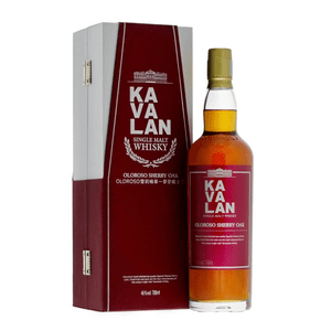 Kavalan Single Malt Whisky Sherry Oak 70cl
