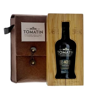 Tomatin 40 Years Single Malt Whisky 70cl