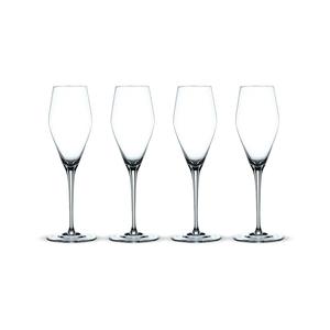 Nachtmann ViNova Champagnerglas, 4er-Set