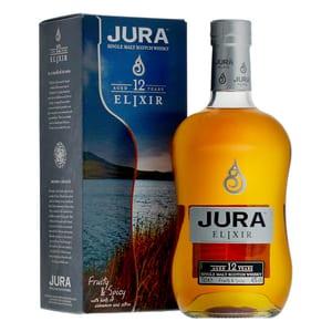 Jura 12 Years Elixir Single Malt Whisky 70cl