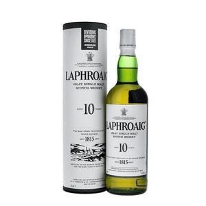 Laphroaig 10 Years Single Malt Whisky 70cl