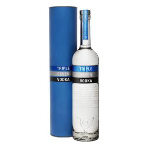 Triple Seven Vodka 70cl avec étui
