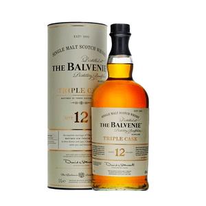 The Balvenie 12 Years Triple Cask Single Malt Whisky 100cl