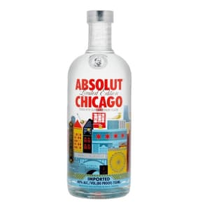 Absolut Vodka Chicago Limited Edition 75cl
