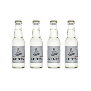 Flauder Gents Swiss Elderflower Tonic Water 20cl, 4er-Pack