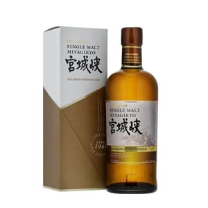 Nikka Miyagikyo Single Malt Whisky Bourbon Wood Finish 70cl