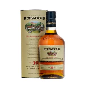 Edradour 10 Years Single Malt Whisky 70cl