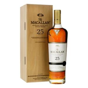 The Macallan 25 Years Sherry Oak Single Malt Whisky 70cl