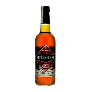 "Rittenhouse Rye 100 Proof ""Bottled-in-Bond"" Whiskey 70cl"