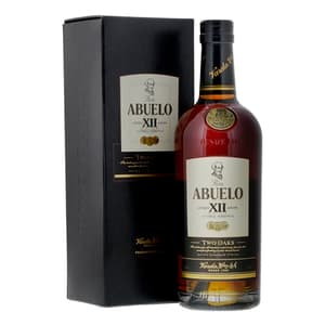 Abuelo 12 Years Two Oaks Rum 70cl