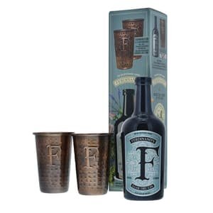 Ferdinand's Saar Dry Gin 50cl mit zwei Kupferbecher
