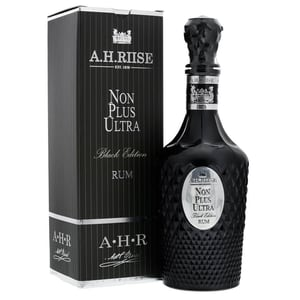 A.H. Riise Non Plus Ultra Black Edition Rum 70cl