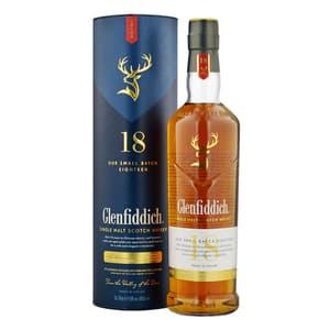 Glenfiddich 18 Years Single Malt Whisky 70cl New Design