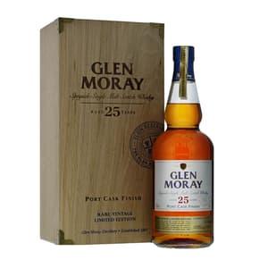 Glen Moray 25 Years Single Malt Whisky 70cl
