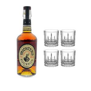 Michter's US*1 Kentucky Straight Bourbon avec 4 Spiegelau Verres S.O.F.