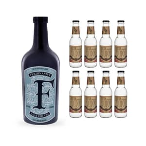Ferdinand's Saar Dry Gin 50cl avec 8x Doctor Polidori's Dry Tonic Water