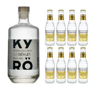 Kyrö Gin 50cl avec 8x Fever Tree Indian Tonic Water