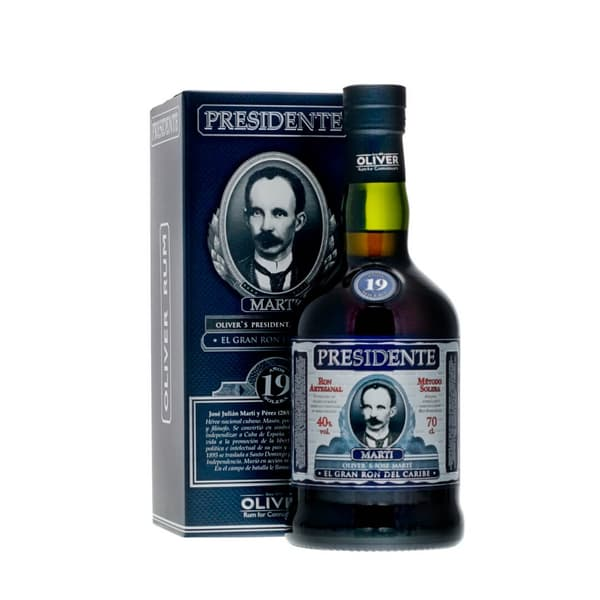 Presidente Marti Rum 19 Years 70cl
