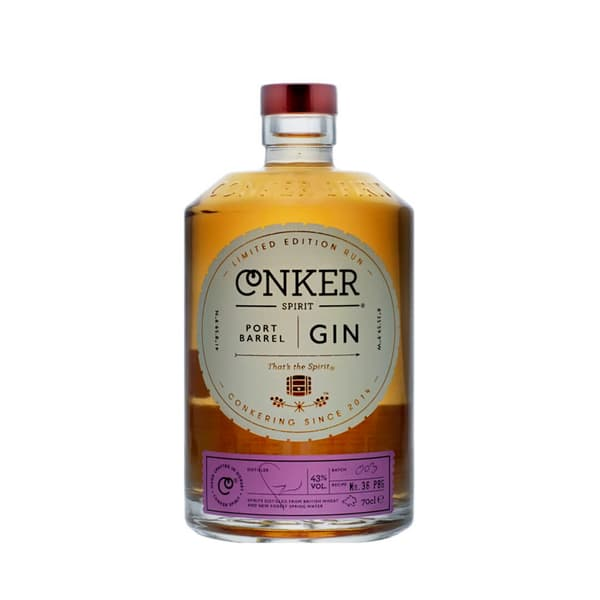 Conker Spirit Port Barrel Gin 70cl