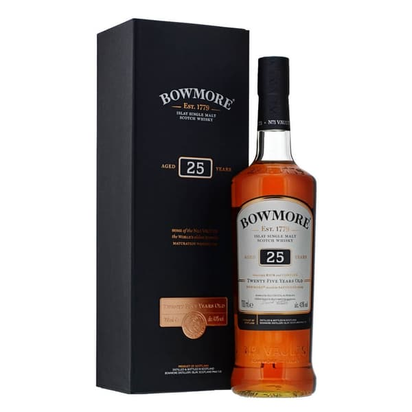 Bowmore 25 Years Small Batch Release 70cl