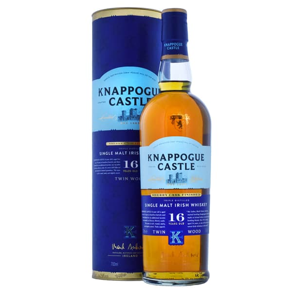 Knappogue Castle 16 Years Whiskey Twinwood Sherry Finish 70cl