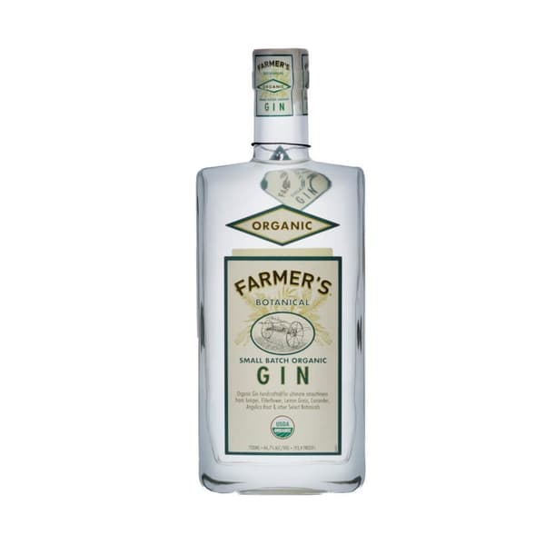 Farmer's Botanical Small Batch Organic Gin 70cl