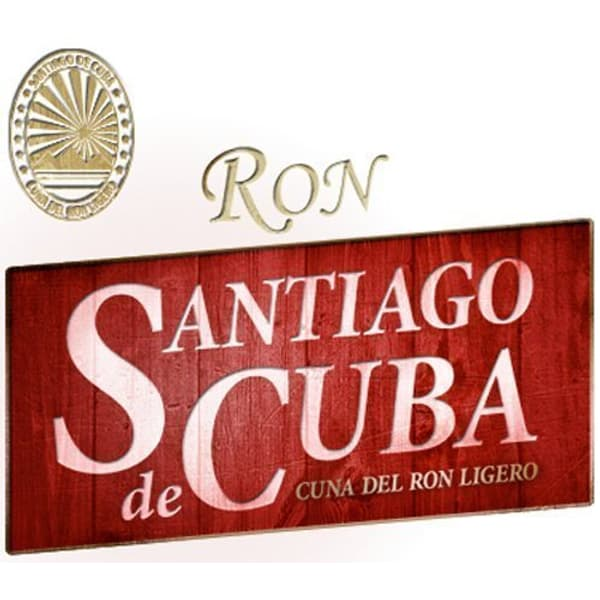 Santiago de Cuba Carta Blanca Rum 70cl