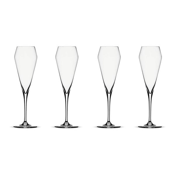 Spiegelau Willsberger Anniversary Champagnerglas, 4er-Set
